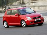 Images of Suzuki Swift 3-door 2004–10