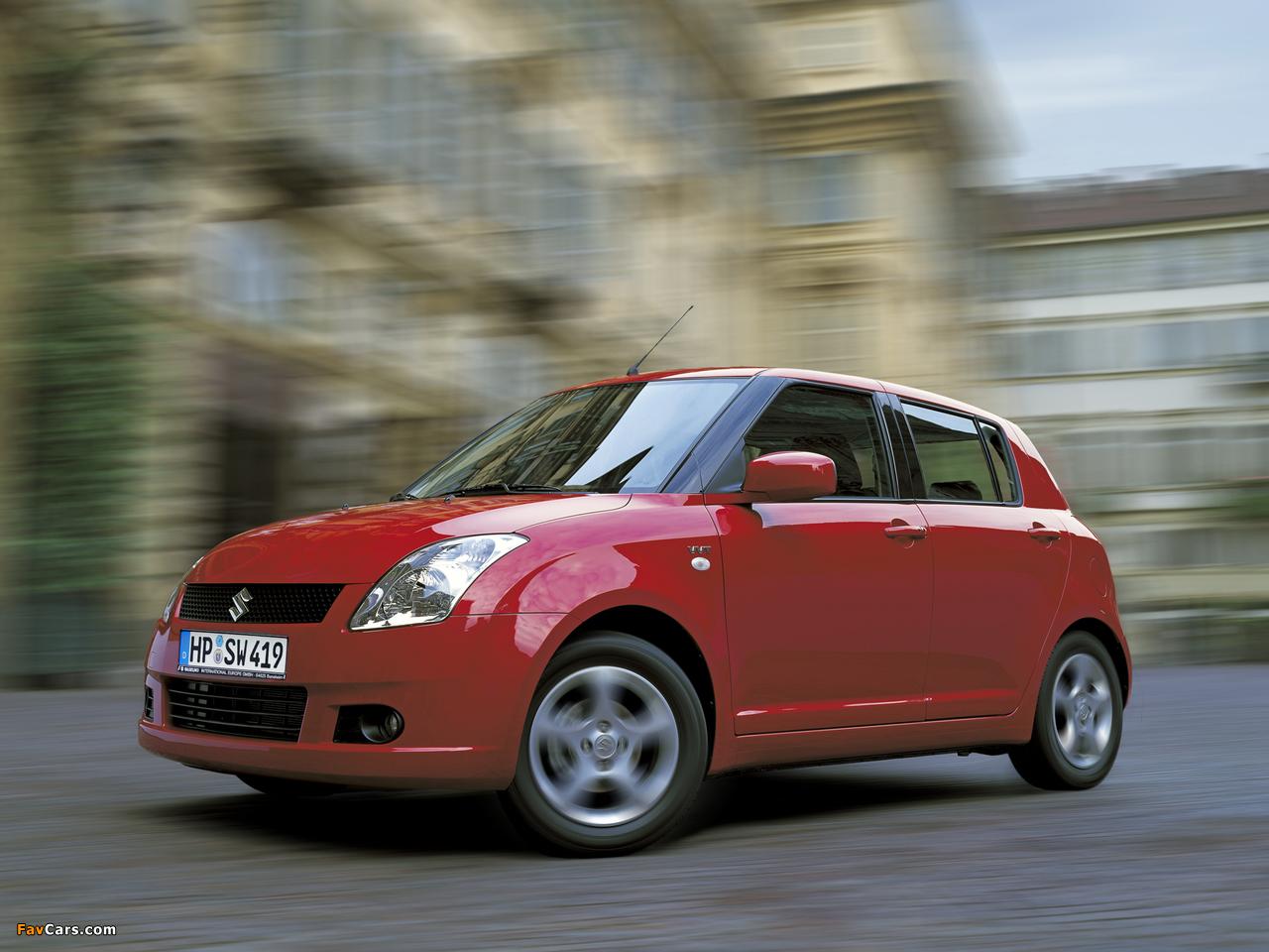 Images of Suzuki Swift 5-door 2004–10 (1280 x 960)