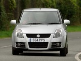 Images of Suzuki Swift Sport UK-spec 2005–11