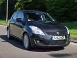 Images of Suzuki Swift 5-door UK-spec 2010–13