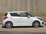 Images of Suzuki Swift Sport 5-door 2013