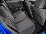 Images of Suzuki Swift Sport 5-door UK-spec 2013