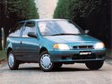 Photos of Suzuki Swift 3-door UK-spec 1996–2004