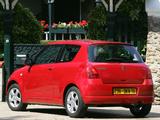 Photos of Suzuki Swift 3-door 2004–10