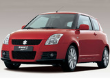 Photos of Suzuki Swift Sport 2005–11