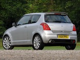 Photos of Suzuki Swift Sport UK-spec 2005–11