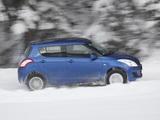 Photos of Suzuki Swift 4x4 5-door 2011–13