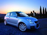 Pictures of Suzuki Swift Sport 2005–11