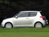 Pictures of Suzuki Swift Sport UK-spec 2005–11