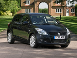 Pictures of Suzuki Swift 5-door UK-spec 2010–13