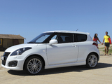 Pictures of Suzuki Swift Sport 2011