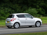 Pictures of Suzuki Swift 5-door UK-spec 2013