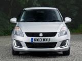 Pictures of Suzuki Swift 5-door UK-spec 2013