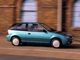 Suzuki Swift 3-door UK-spec 1991–95 images