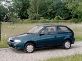Suzuki Swift 3-door UK-spec 1991–95 photos