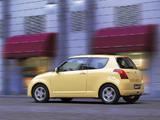 Suzuki Swift 3-door 2004–10 pictures