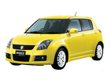 Suzuki Swift Sport JP-spec 2005–11 photos