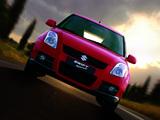 Suzuki Swift Sport 2005–11 photos