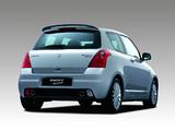Suzuki Swift Sport 2005–11 pictures