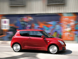 Suzuki Swift Sport 2005–11 wallpapers