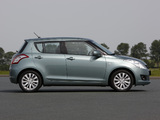 Suzuki Swift 5-door 2010–13 images