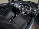 Suzuki Swift 5-door UK-spec 2010–13 pictures