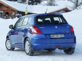 Suzuki Swift 4x4 5-door 2011–13 pictures
