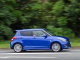 Suzuki Swift Sport 5-door UK-spec 2013 images