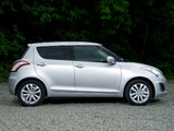 Suzuki Swift 5-door UK-spec 2013 images