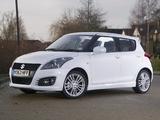 Suzuki Swift Sport 5-door UK-spec 2013 photos
