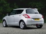 Suzuki Swift 5-door UK-spec 2013 pictures