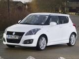 Suzuki Swift Sport 5-door UK-spec 2013 pictures