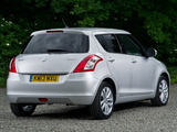 Suzuki Swift 5-door UK-spec 2013 pictures