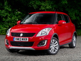 Suzuki Swift 4x4 SZ4 2013 wallpapers