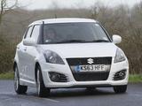 Suzuki Swift Sport 5-door UK-spec 2013 wallpapers