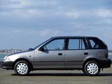 Suzuki Swift 5-door UK-spec 1991–95 wallpapers