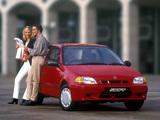 Suzuki Swift 3-door UK-spec 1996–2004 wallpapers