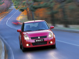 Suzuki Swift 5-door 2004–10 wallpapers