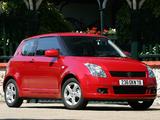 Suzuki Swift 3-door 2004–10 wallpapers