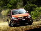 Images of Suzuki SX4 JP-spec 2006–10