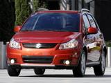 Photos of Suzuki SX4 US-spec 2006–10