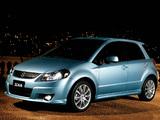 Pictures of Suzuki SX4 JP-spec 2006–10
