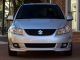 Suzuki SX4 Sedan US-spec 2007–12 pictures