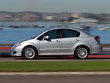 Suzuki SX4 Sedan US-spec 2007–12 pictures