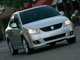 Suzuki SX4 Sedan US-spec 2007–12 wallpapers