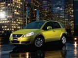 Suzuki SX4 AWD Crossover 2011–12 images