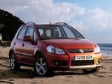Suzuki SX4 UK-spec 2006–10 wallpapers