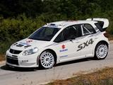 Suzuki SX4 WRC 2007 wallpapers