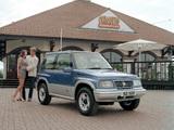 Images of Suzuki Vitara 3-door UK-spec 1989–98