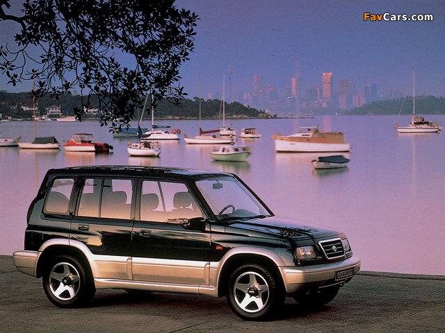 Images of Suzuki Vitara 5-door 1991–98 (640 x 480)